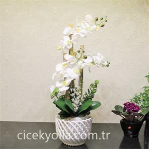 Yapay 3lü Orkide Siparişi