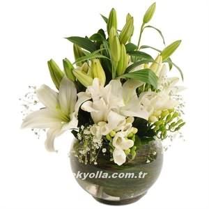 Kars`a hediyelik çiçek