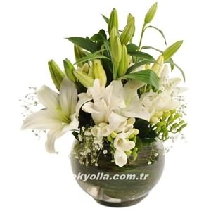 Bayburt`a hediyelik çiçek