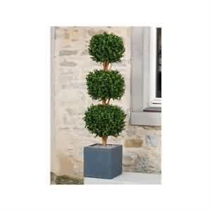 3lü Yapay Bukszpanu Ağacı