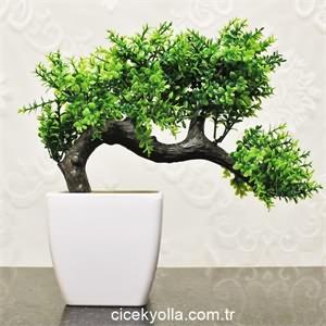 Minyatür Yapay Bonsai Ağacı