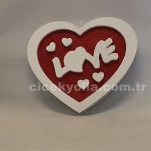 Sevgiliye Kalpli Pano