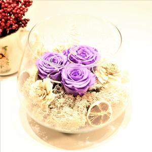 Aşk Masalı Lila Stabilize Güller
