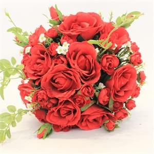 Yapay Kırmızı Gelin Çiçeği