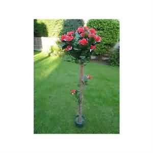 Yapay kırmızı Gül Ağacı