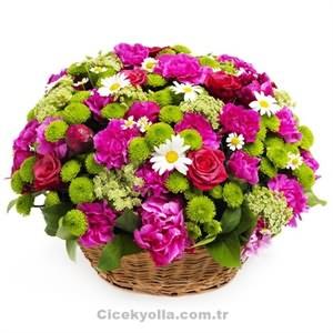 Sepet Dolusu Çiçek