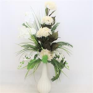 Beyaz Yapma Çiçek