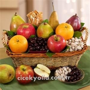 Meyve Kuruyemiş Hediye Sepeti