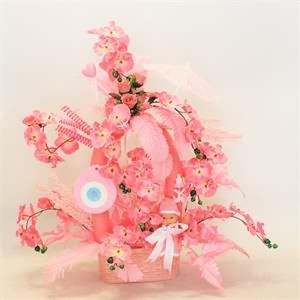 bebekli doğum çiçekleri