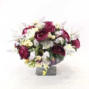 Yapay Çiçek Bordo
