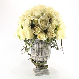 Yapay Çiçek Krem Güller