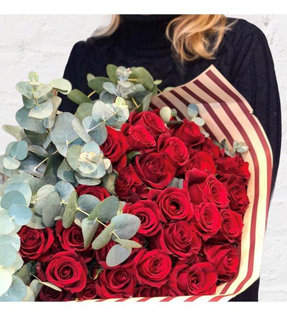 Butik Red Rose Buketi