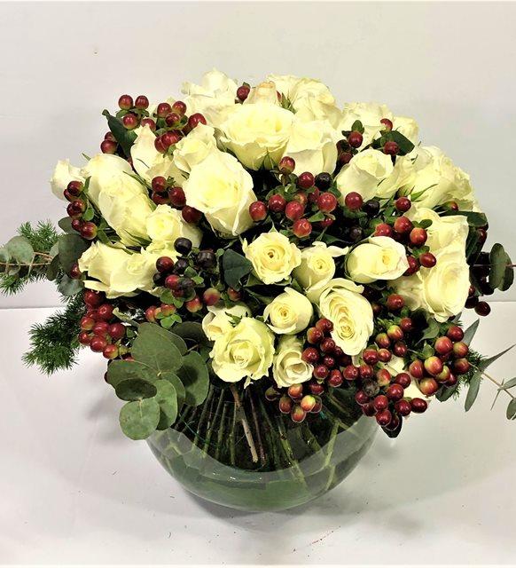 White Roses Hiperikum Serisi