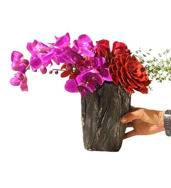 Akaltan Renkli Orkide Serisi
