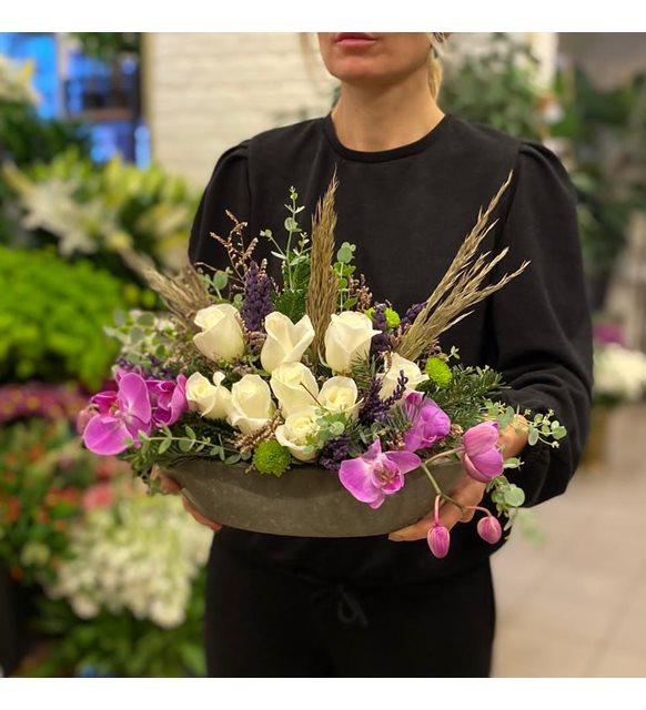 Napoli Orkide Ve Gül Serisi
