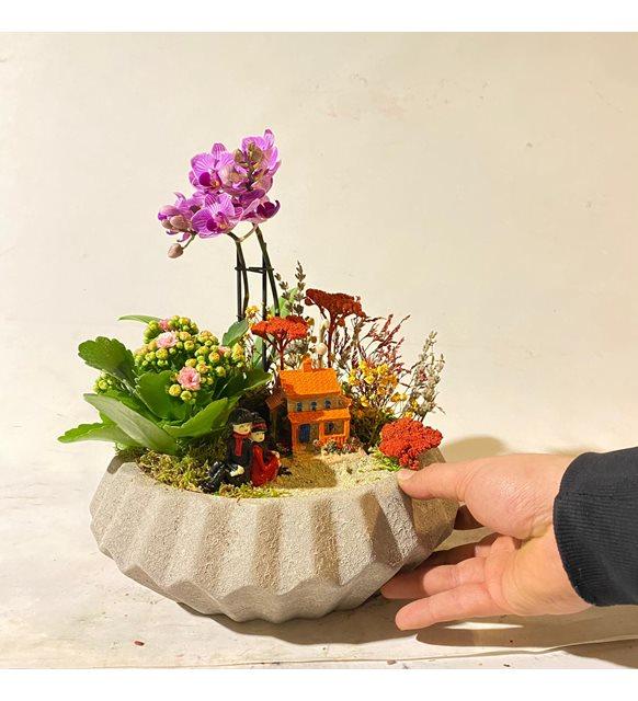 Orkideli Teraryum Bahçemiz