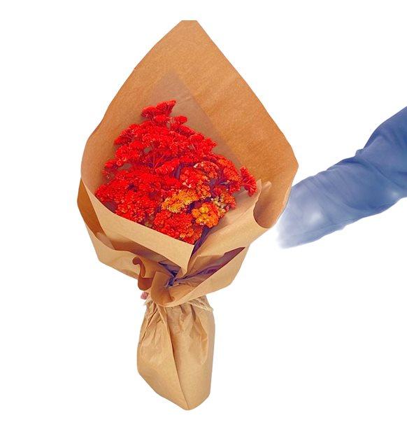 Stabil Kurutulmuş Çiçek