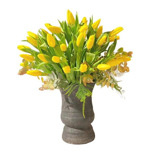 Vera Sarı Lale Dizayn
